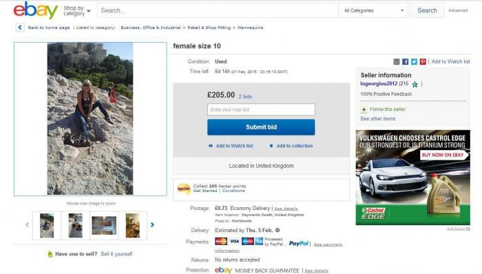This Mum Put Herself Up For Sale On eBay rex3 e1422457346981