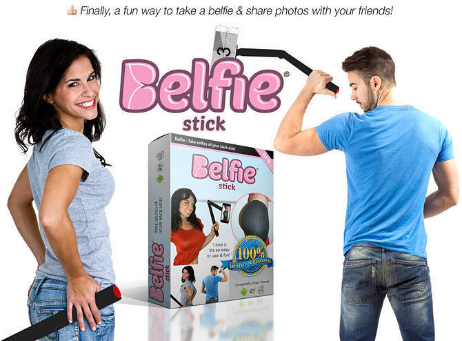 The Belfie Stick Lets You Take Selfies Of Your Bum x1agzdejleitjjszvfcs