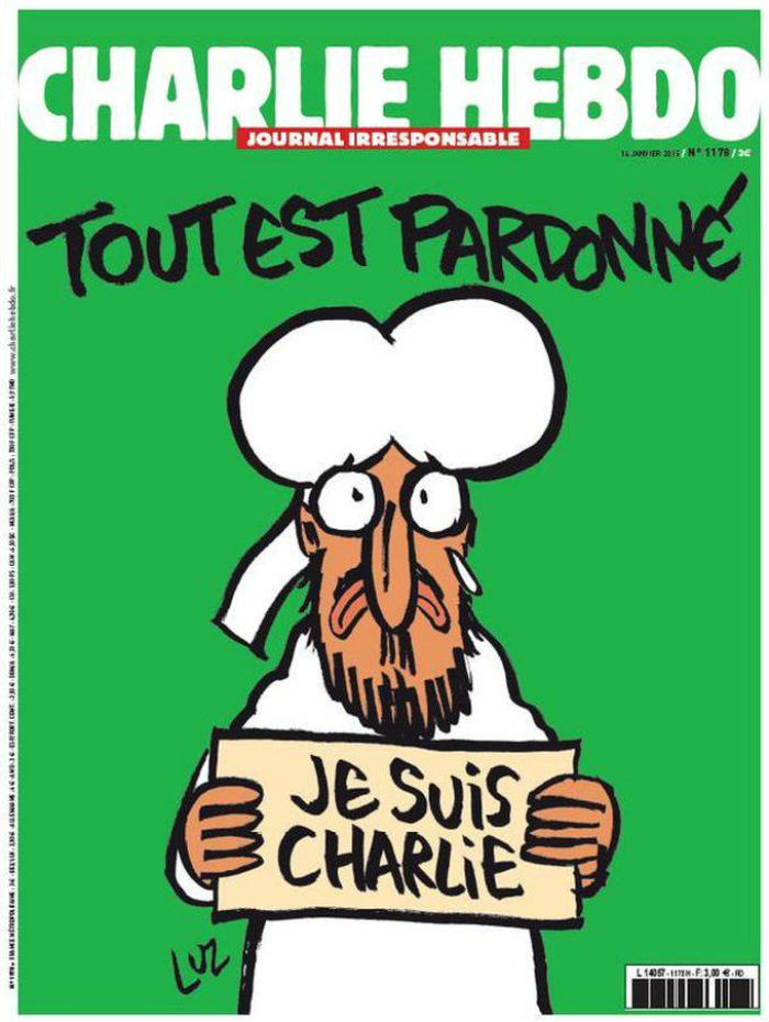 See The First Front Cover Of Charlie Hebdo Since Last Weeks Terror Attack xuu3l3dubjh73fmxkjvj