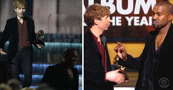 Beyonce Loses To Beck At Grammys, Kanye Storms Stage Again 115
