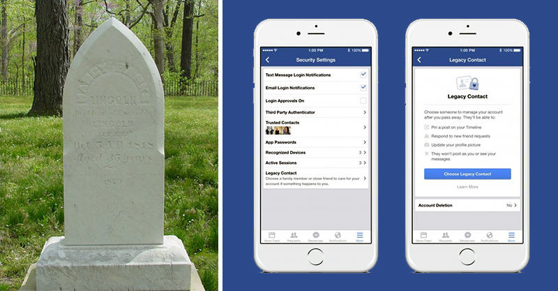 You Can Now Pick Who Controls Your Facebook Profile When You Die 124