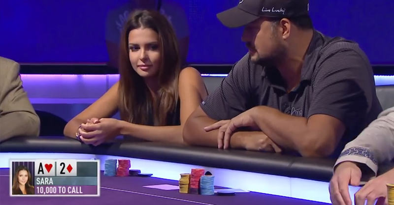 Miss Finland Beats Pro Poker Player With Incredible Bluff 127