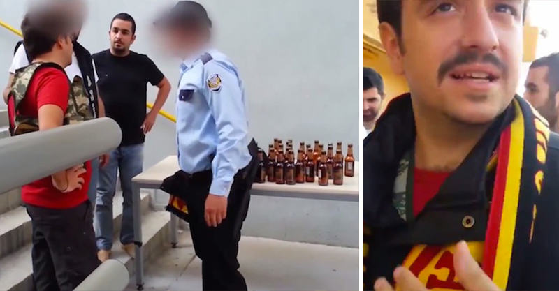 Turkish Man Attempts To Smuggle 24 Beers Into A Football Game 129
