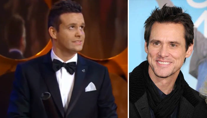 Czech Awards Show Think Jim Carrey Lookalike Is Actually Him 156