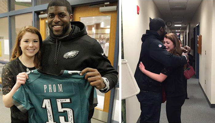 NFL Linebacker Takes Girl To Prom After She Got 10K Retweets 162
