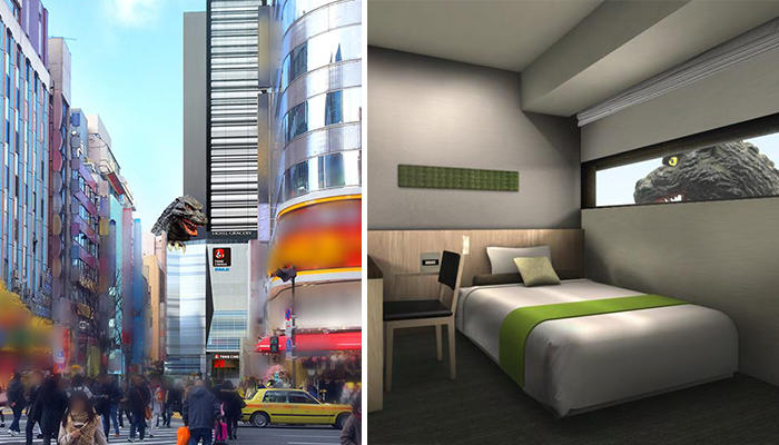 There Is A Godzilla Themed Hotel Opening In Japan 172