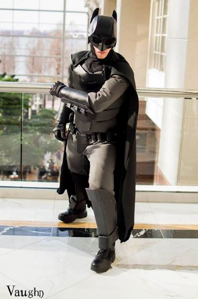 This Lad Built His Own Knifeproof Batman Costume 1804