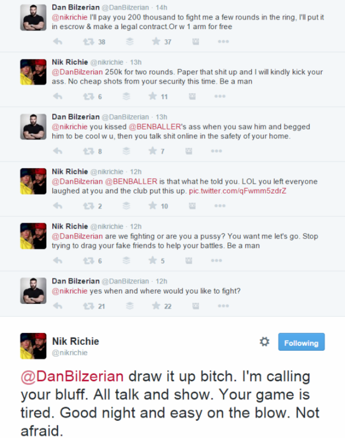 Dan Bilzerian Is Going To Fight A Blogger for $250,000 2015 02 07 1514