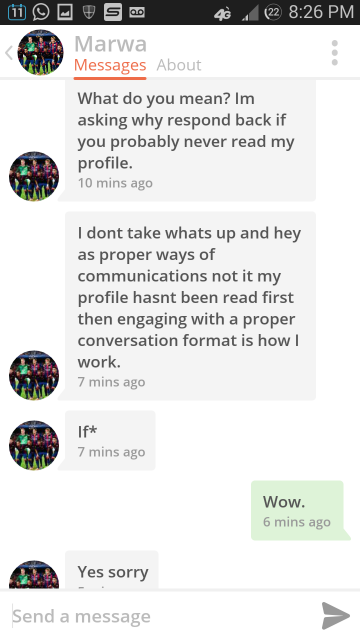 Law Student Goes CRAZY on Tinder 31