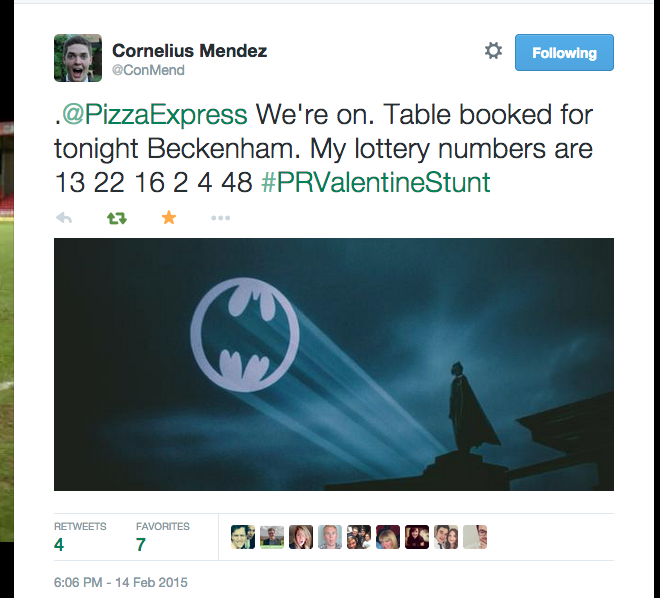 Lad Goes On Pizza Express Date Dressed As Batman For A Bet 51