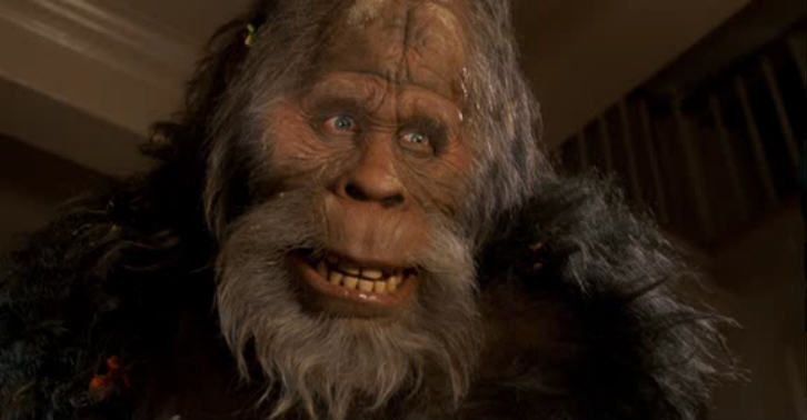 Is The Video Of A Bigfoot Family In Yellowstone Real? 600full harry and the hendersons screenshot