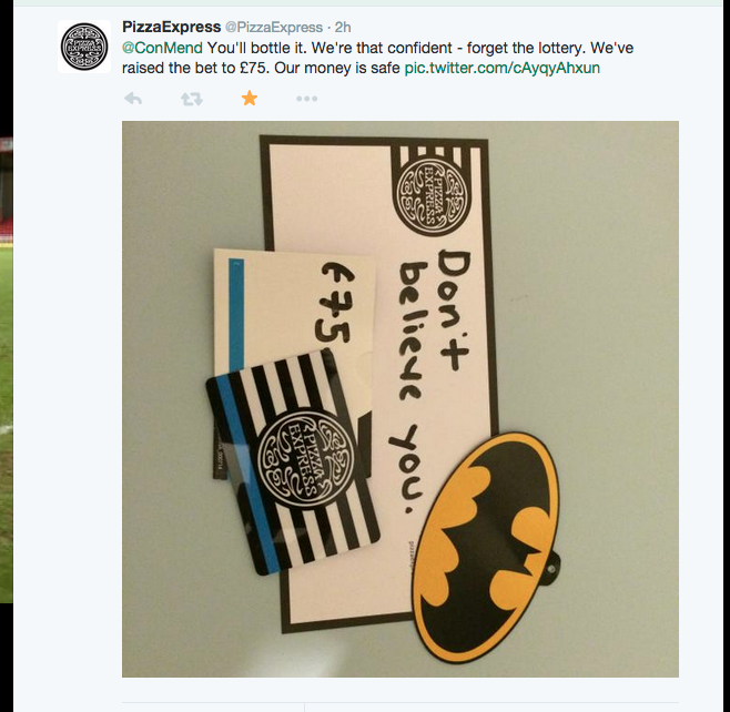 Lad Goes On Pizza Express Date Dressed As Batman For A Bet 62