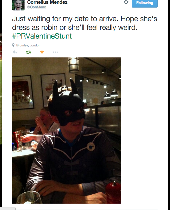 Lad Goes On Pizza Express Date Dressed As Batman For A Bet 8