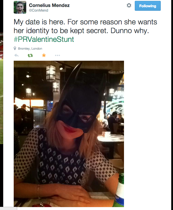 Lad Goes On Pizza Express Date Dressed As Batman For A Bet 9
