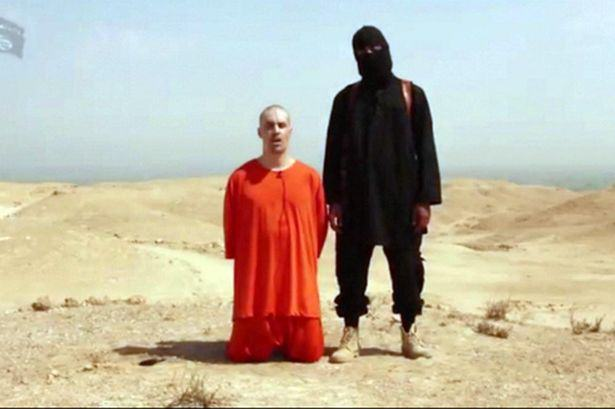 A video posted on youtube reputedly showing the beheading of American journalist James Foley