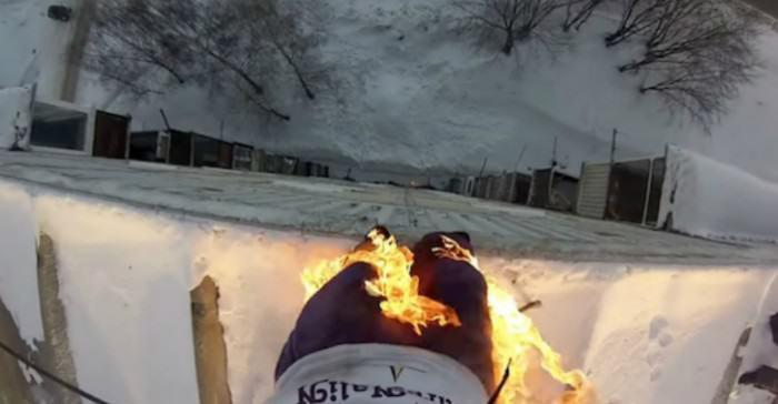 Man Sets Himself On Fire, Jumps Off Building, Because Russia Fire e1423504930575