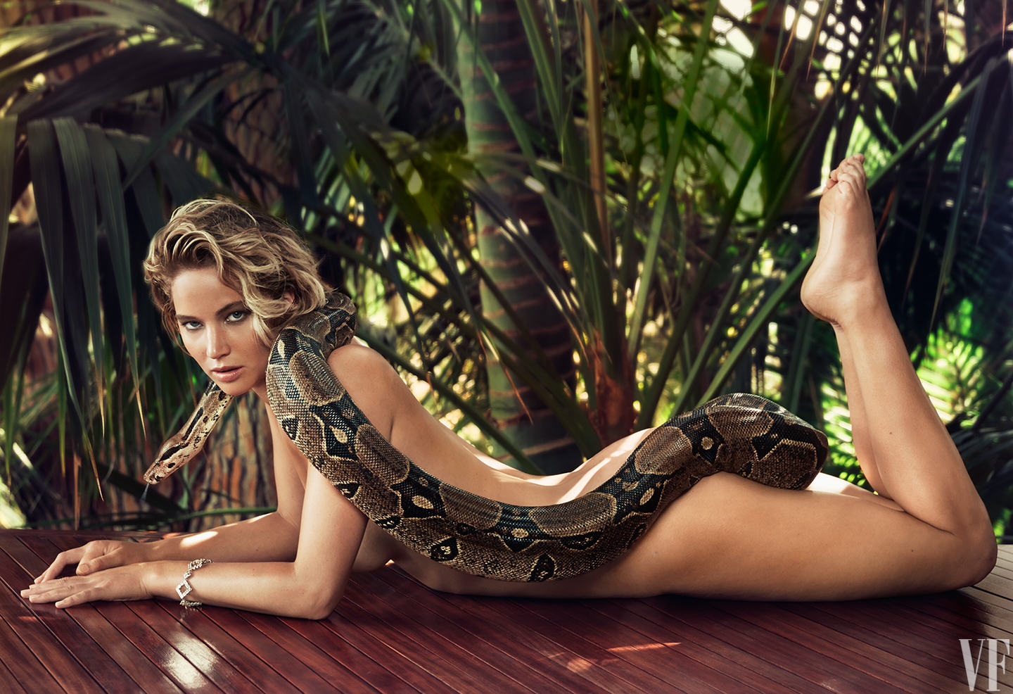 Jennifer Lawrence Goes Nude Again, This Time With A Snake Jennifer Lawrence Snake