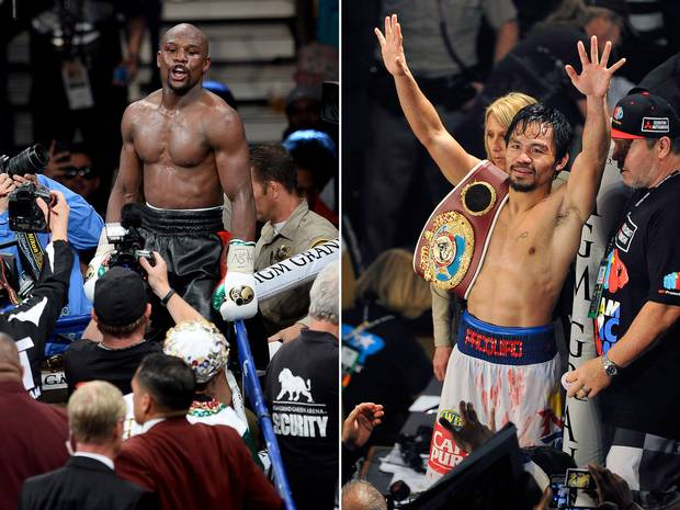 Floyd Mayweather Vs Manny Pacquiao Is Going Down In Las Vegas MayPac