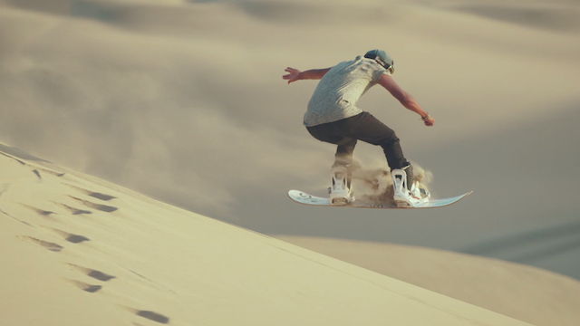 I Never Realised That Sandboarding Could Look So Cool Sandboarding