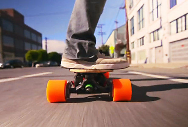 Fancy A Ride On The Closest Thing To A Hover Board? The boosted board has a top speed of 22mph 425485