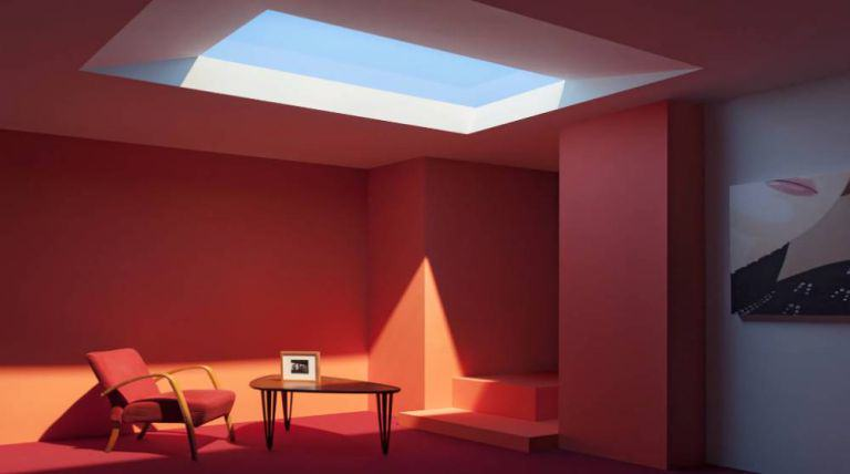This Fake Skylight Gives You Sunshine All Day Every Day ad 160051881