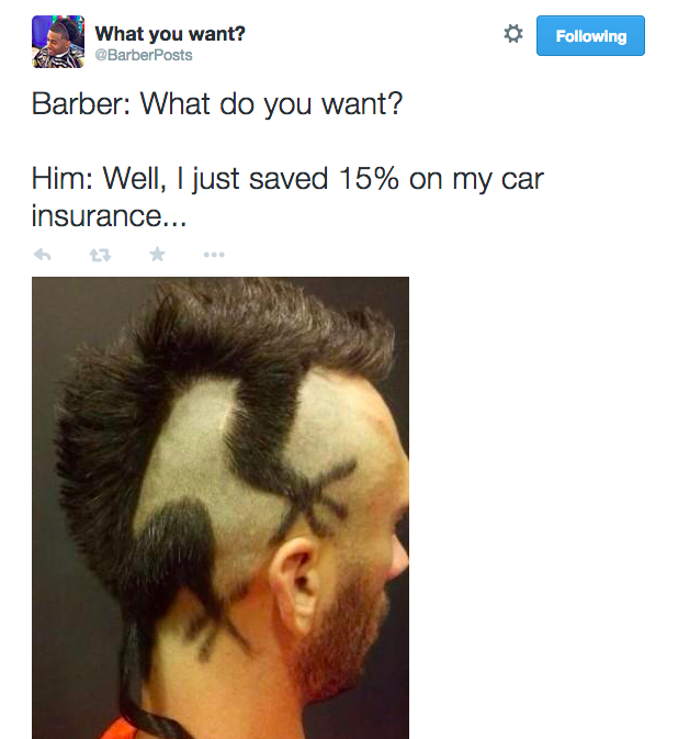 Like To Laugh At Terrible Haircuts? We Got You, Fam afKeUHR