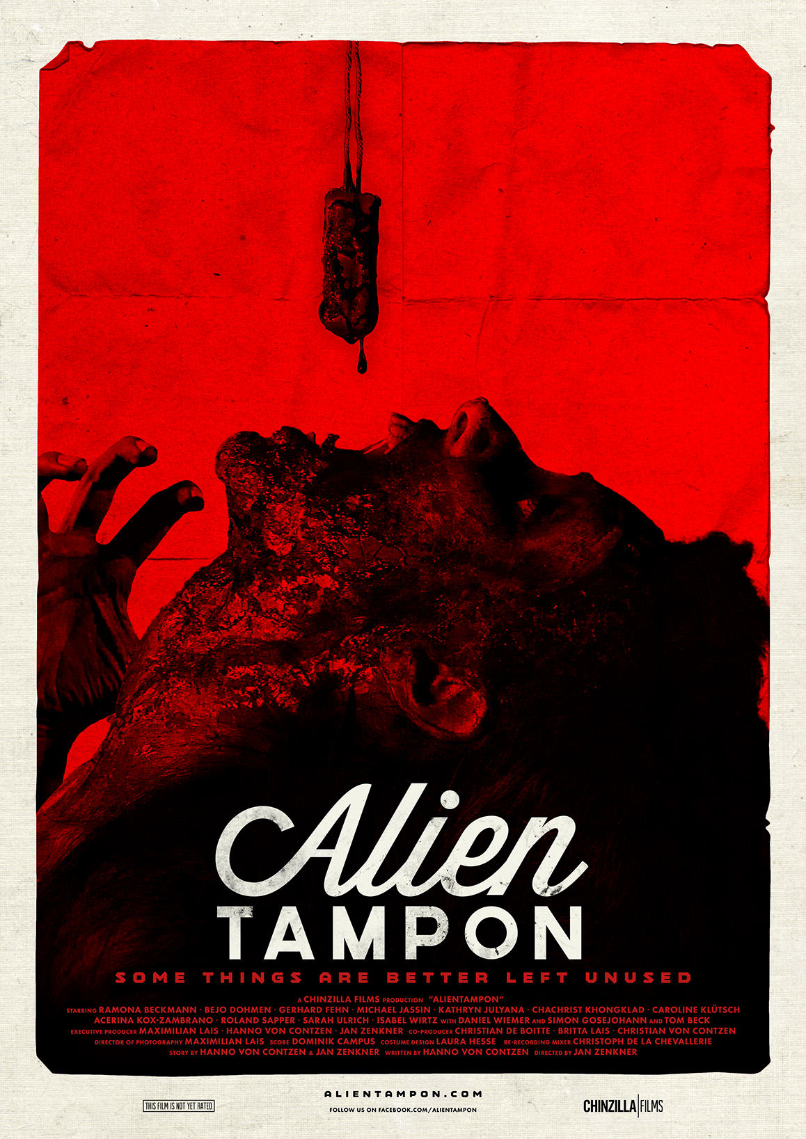 Somebody Wants To Make The Film Alien Tampon, And We Want To Watch It alientampon poster red