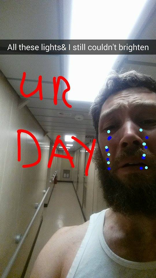 Guy Gets Over His Ex With Hilarious Snapchat Spree billy25