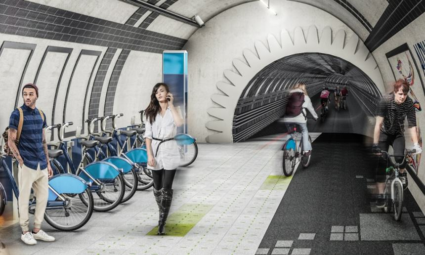 Could Underground Cycle Paths Be Coming To London? %name
