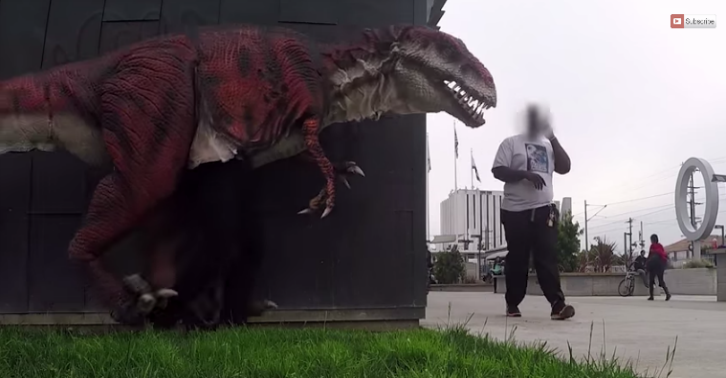 This Dinosaur In The Hood Video Is Brilliant dino thumb1