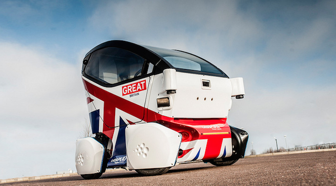 Driverless Cars Are Now Being Tested In UK Cities driverless
