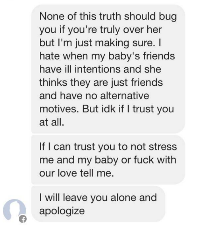 This Guy Goes Mental At A Lad For Snapchatting His Ex holy mother of crazy ex boyfriend 7