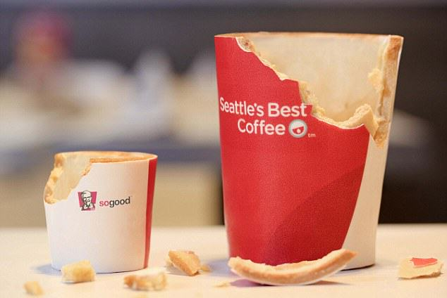 KFC Launch The Edible Coffee Cup And Were All For It kfc3
