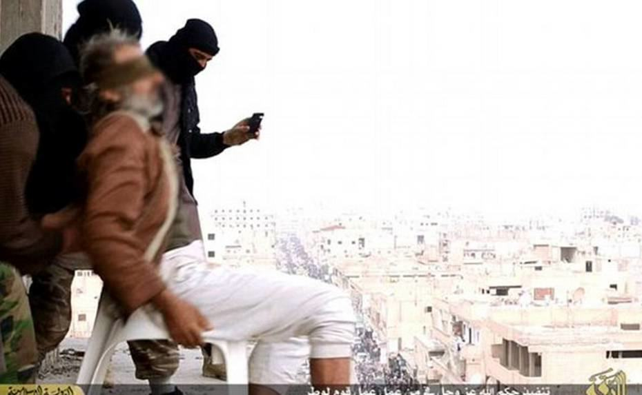 Man Thrown From Building By ISIS For Being Gay Survives Fall man thrown from building