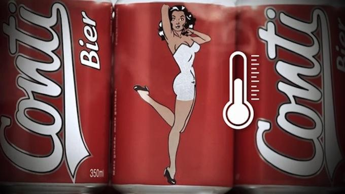 The Girl On This Beer Can Stripteases The Colder It Gets ocszhiifqri3ilcd3esa