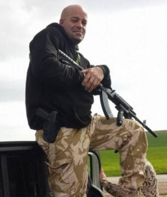 British Bouncer Sells Home To Join Fight Against ISIS timlock31