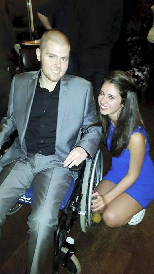 Teenager With Days To Live Has Prom Brought Forward So He Can Go wheelchair