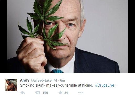 Twitter Reacts To Channel 4 Drugs Live Show About Cannabis 1