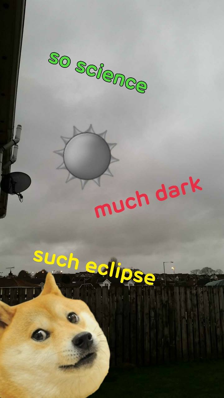 The Solar Eclipse Came And Went, The Internet Lost Their Sh*t 11075304 10206408805198166 2335866178446569339 o