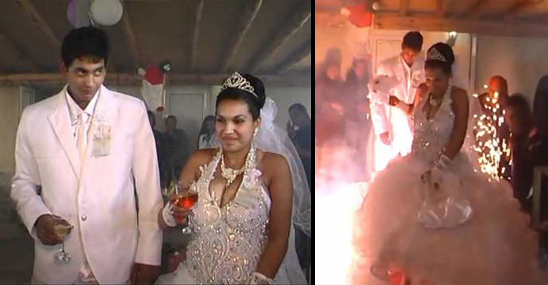 This Absolute Train Wreck Of A Wedding Is Going Viral Again 121