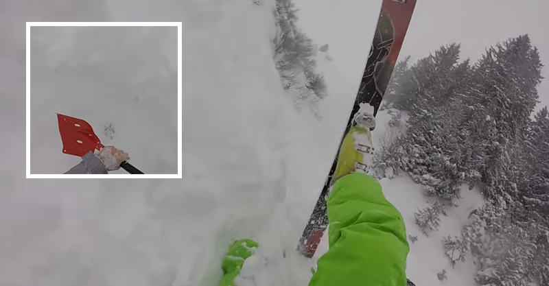 Intense Video Shows Men Rescue Friend Buried By Avalanche 166