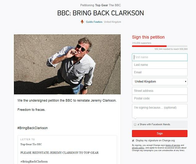 The Internet Reacts To Jeremy Clarksons Suspension 2689569400000578 2988412 image m 20 1426075529864