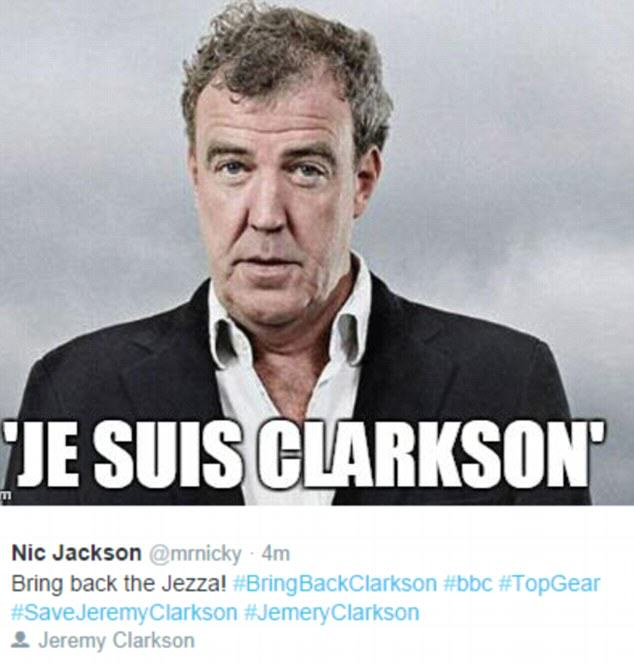 The Internet Reacts To Jeremy Clarksons Suspension 26898E0600000578 2988412 image m 41 1426077568467