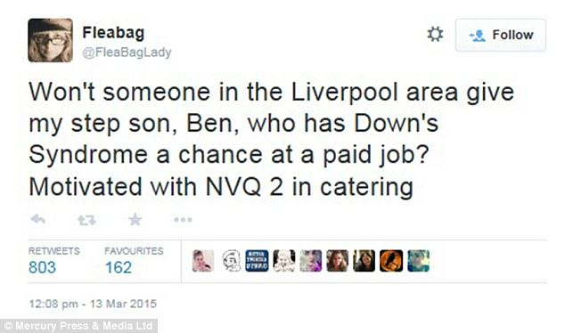 Lad With Downs Syndrome Finally Lands Job 26C3512300000578 0 image a 52 1427028550547