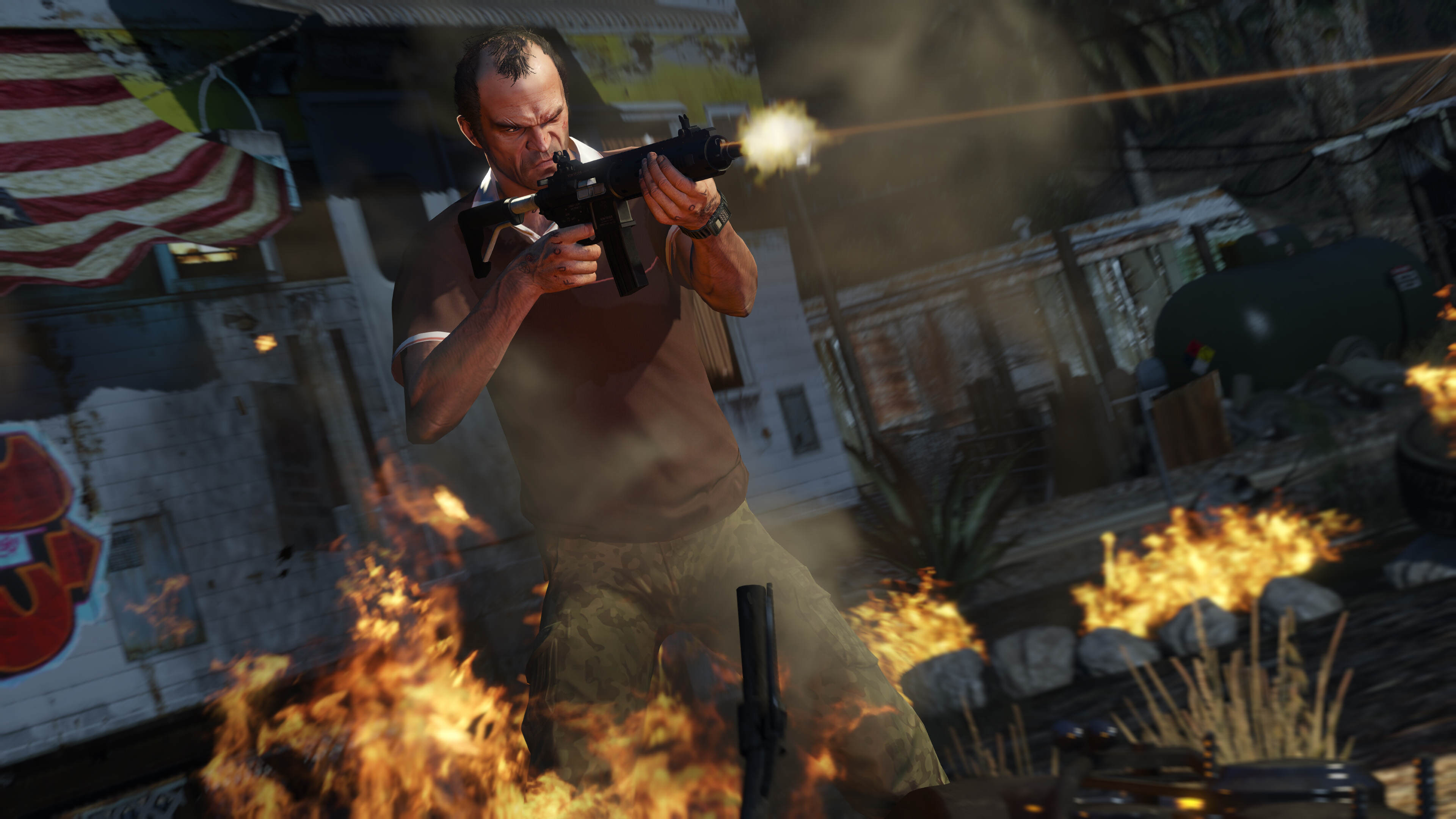 Rockstar Release Much Anticipated Grand Theft Auto V PC Screenshots 2836623 gtav pc 4k.11