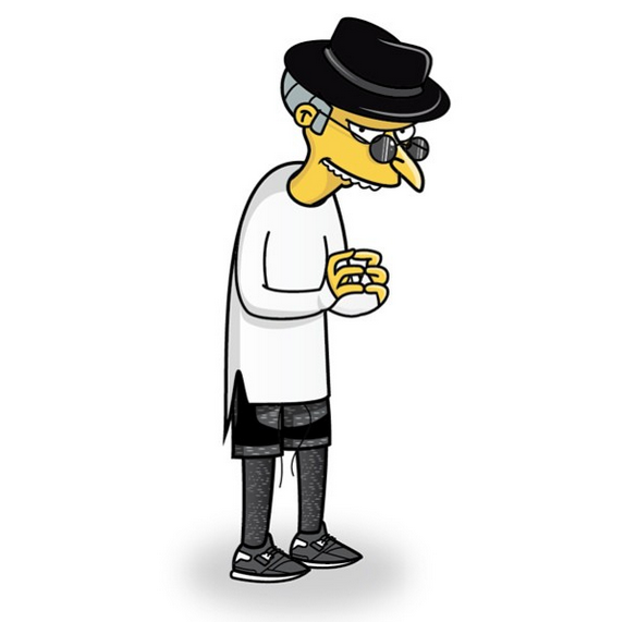 Characters From The Simpsons Get A Solid Streetwear Makeover 6