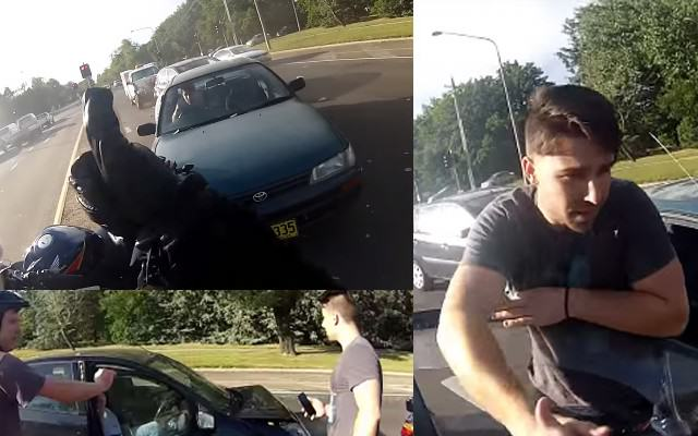 Possibily The Friendliest Car Accident Ever CrashWebsiteThumb 640x400