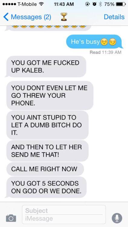 Guy Tries One Text Prank On Girlfriend, Ends Very Badly S63QlAS 1