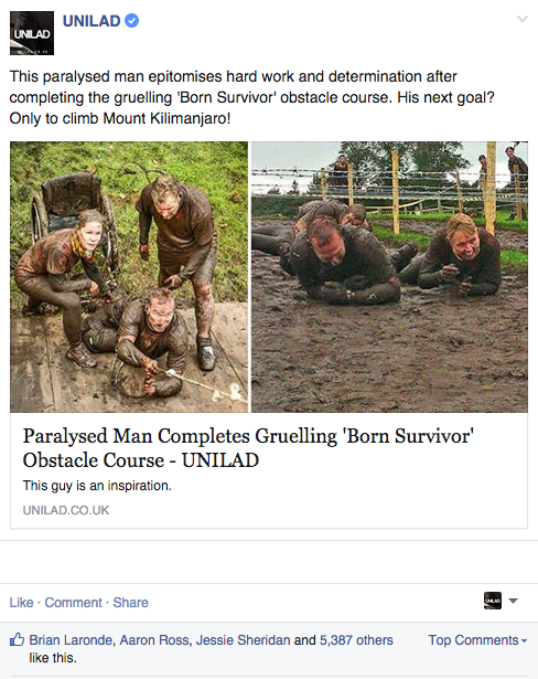 This Weeks UNILAD Top Comment Heroes Screen Shot 2015 03 13 at 14.01.33