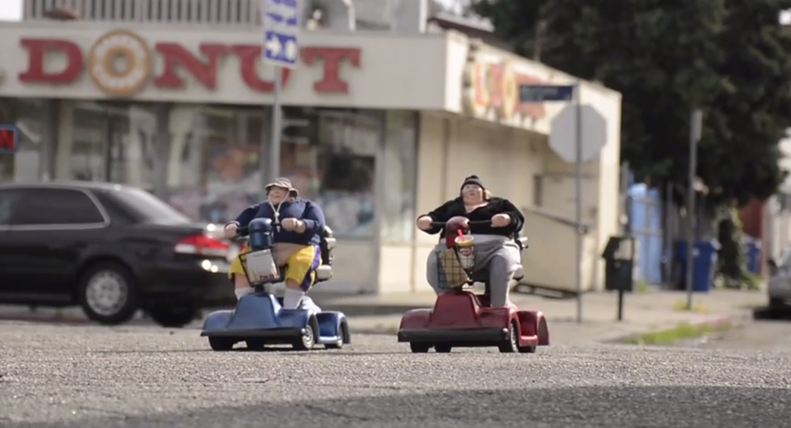 Guy Creates Amazing Mobility Scooter Sculptures And I Want Them Screen Shot 2015 03 16 at 09.57.25